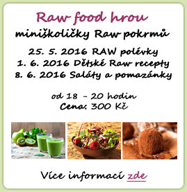 Raw food hrou